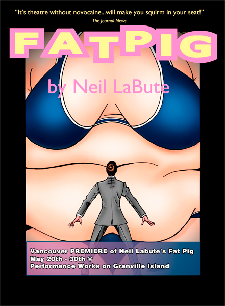 fat people posters. Fat Pig Opens This Week
