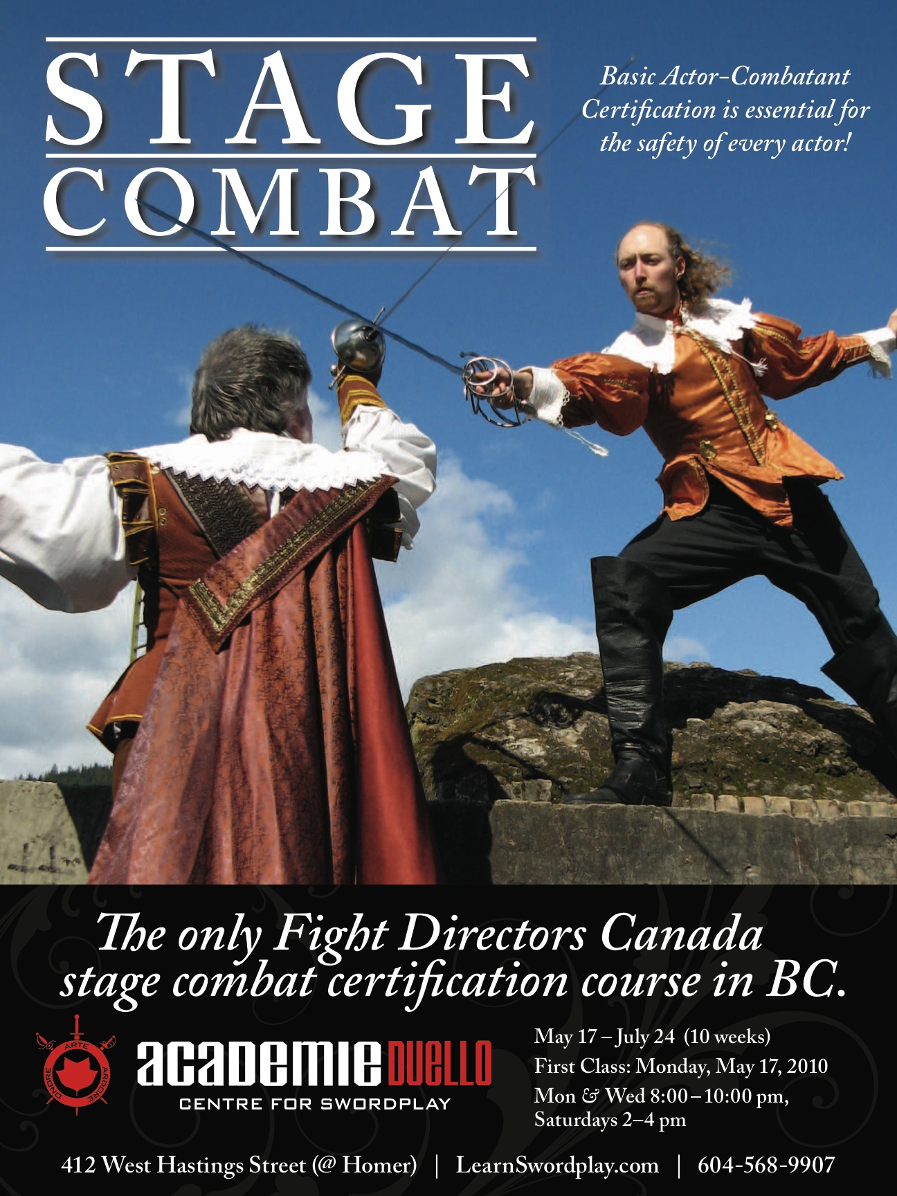 May Stage Combat Course Playfighting