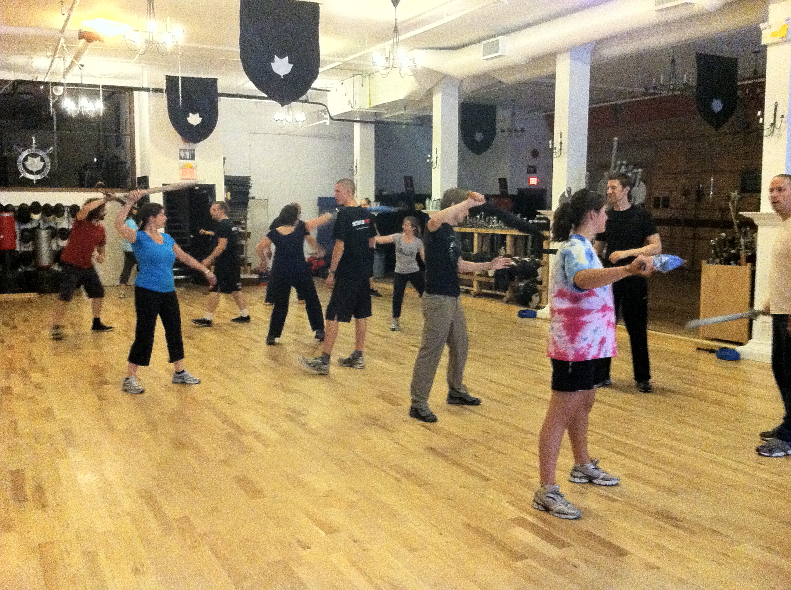 Swordfighting at Academie Duello Builds Muscles and Minds ...